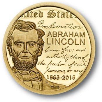Abraham Lincoln, Goldmünze Mongolei