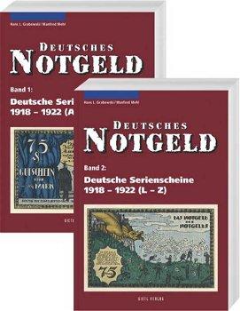 Deutsches Notgeld, Deutsche Serienscheine 1918 - 1922, Katalog, 2 Bände, 1 + 2, 3. Auflage 2009, Gie