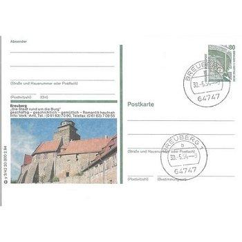 """6127 Breuberg - Bildpostkarte """"Die Stadt rund um die Burg"""""""