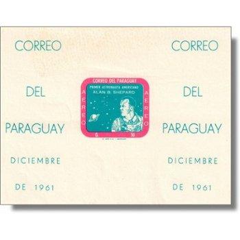 Weltraum/Alan B. Shepard - Briefmarken-Block postfrisch ungezähnt, Block 13, Paraguay