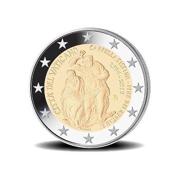 25 Jahre Abschluss Restaurierung der Sixtinischen Kapelle - 2 Euro Münze 2019, Vatikan