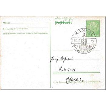 6744 Kandel - postal stationery & quot; Grenzlandtage & quot;