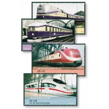 ICE, Eisenbahnen in Deutschland - Katalog-Nr 2560-63 postfrisch, Bund