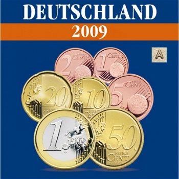 Deutschland - Kursmünzensatz 2009, Prägezeichen A