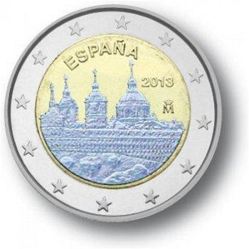2 Euro Hologramm-Münze El Escorial, Spanien
