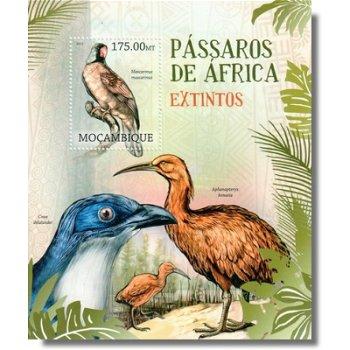 Vögel aus Afrika - Briefmarken-Block postfrisch, Katalog-Nr. 5845 Bl. 642, Mocambique