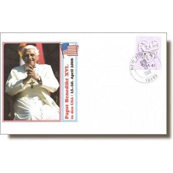 Reise von Papst Benedikt XVI. in die USA - Sonderbeleg, USA
