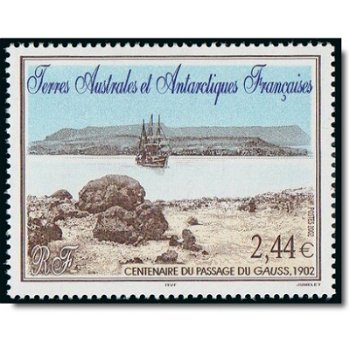"""100. Jahrestag der Ankunft des Forschungsschiffes """"Gauss"""" - Briefmarke postfrisch, Katalog"""