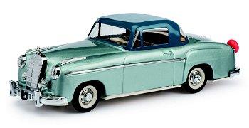 Modellauto:Rollfix 1085Mercedes-Benz 220 S Coupé, blau/dunkelblau(Schuco/Classic)