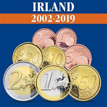 Irland – Kursmünzensätze alle Jahrgänge 2002-2019