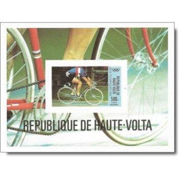 Olympische Sommerspiele 1980, Moskau – Briefmarken-Block postfrisch, ungezähnt, Katalog-Nr. 799, Blo