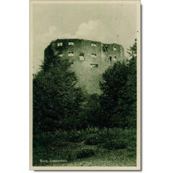 6202 Bad Liebenstein - Postcard & quot; Castle & quot;