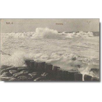 """2280 Westerland - Postkarte """"Brandung"""""""
