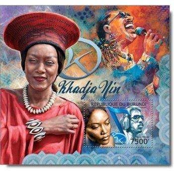 Musiker - Briefmarken-Block postfrisch, Burundi