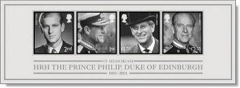 Zur Erinnerung an Prinz Philip - Block postfrisch, Großbritannien