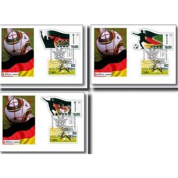 Soccer World Cup 2014 - 3 postal stationery, Germany