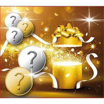 Die Weihnachtsüberraschung, 5 Münzen im Set