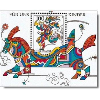 Für uns Kinder 1996, Block 35 postfrisch, Katalog-Nr. 1853, Bundesrepublik