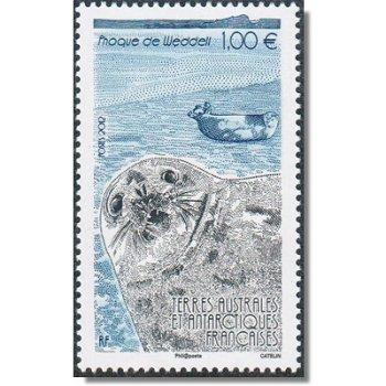 Weddellrobben - Briefmarke postfrisch, Katalog-Nr. 770, TAAF
