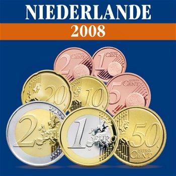 Niederlande - Kursmünzensatz 2008