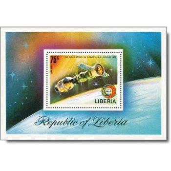 Space - Briefmarken-Block postfrisch, Liberia