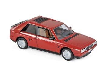 Modellauto:Lancia Delta S4 von 1985, rot(Norev, 1:43)