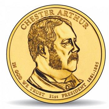 Chester A. Arthur, Präsidentendollar 2012, USA