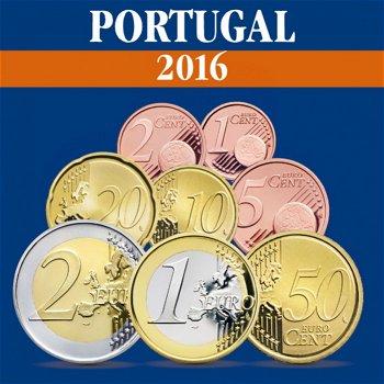 Portugal - Kursmünzensatz 2016