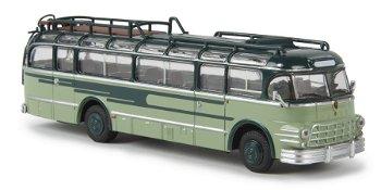 Modellbus:Saurer 5 GVF-U, grün(Brekina, 1:87)