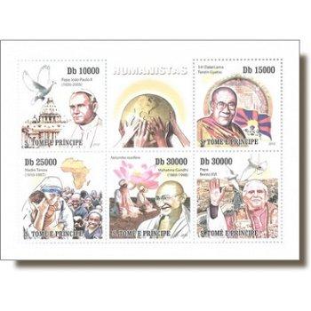 Humanisten - Briefmarken-Block, St. Thomas