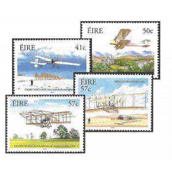 100. Jahrestag des ersten Motorfluges der Gebrüder Wright - vier Briefmarken postfrisch, Irland