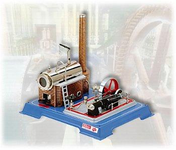 Dampfmodell:Dampfmaschine D 16(Wilesco)