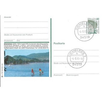 3542 Diemelsee - Bildpostkarte