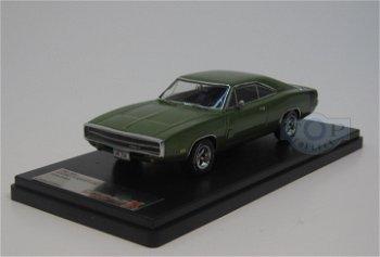 Modellauto:Dodge Charger 500 von 1970, grün-metallic(Premium X, 1:43)