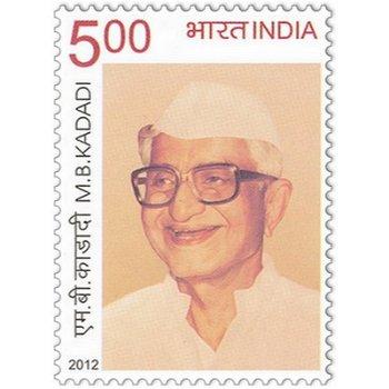 M. B. Kadadi - Briefmarke postfrisch, Indien