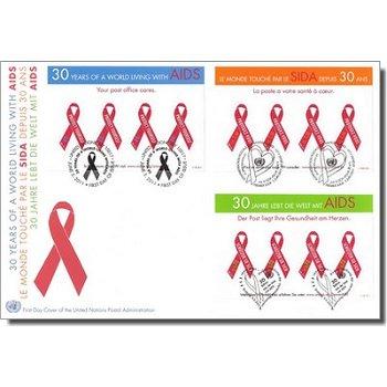 30 Jahre Aidsbekämpfung, Trio-Brief, UNO