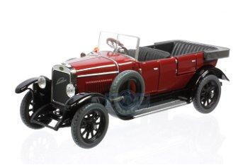 Modellauto:Laurin & Klement - Škoda 110 Combi von 1927, dunkelrot(Abrex, 1:43)