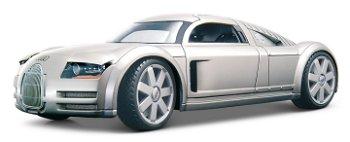 Modellauto:Audi Supersportwagen - Rosemeyer -, silber(Maisto, 1:18)