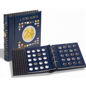 Münzalbum Vista für 2-Euro-Münzen, inkl. Schutzkassette und 4 Münzblätter, Leuchtturm 341017