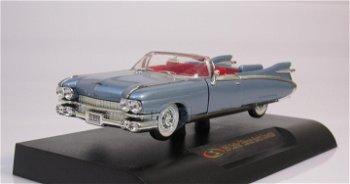 Modellauto:Cadillac Eldorado Biarritz Cabriolet, blau(Signature Models, 1:32)