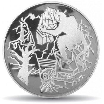 Sagenumwobene Landschaften, 20 Franken Münze 1994 Schweiz, Polierte Platte