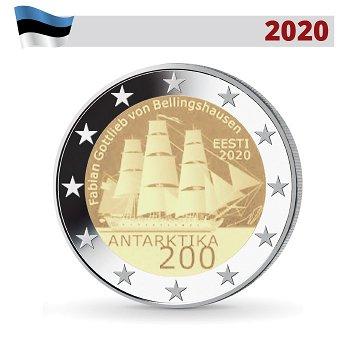 Entdeckung der Antarktis, 2 Euro Münze 2020, Estland
