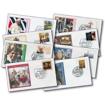 2. Deutschland-Besuch von Papst Benedikt XVI. - 8 Reisebelege, Deutschland