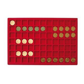 Lindner Tableau für 77 Münzen, Li 2329-77