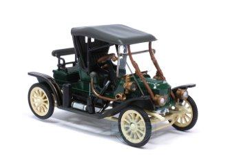 Modellauto:Stanley Steamer Model 62 von 1911, grün-schwarz(1:43)