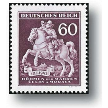Stamp Day - 1 stamp mint, catalog no. 113, Bohemia and Moravia