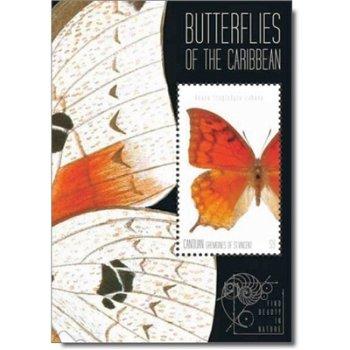 Schmetterlinge – Briefmarken-Block postfrisch, St. Vincent und Grenadinen