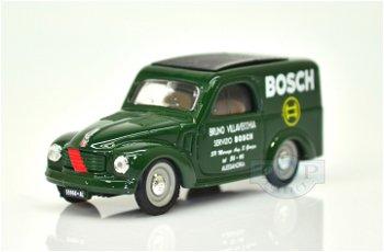 Modellauto:Fiat 500 C Furgoncino - Bosch - von 1950(Brumm, 1:43)