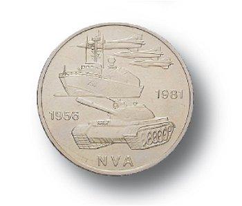10-Mark-Münze 1981, 25 Jahre Nationale Volksarmee, DDR