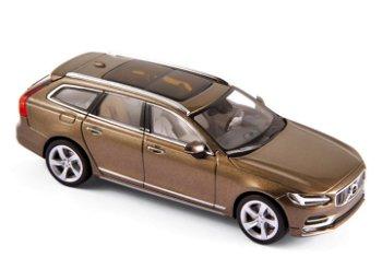 Modellauto:Volvo V90 von 2016, metallic braun(Norev, 1:43)